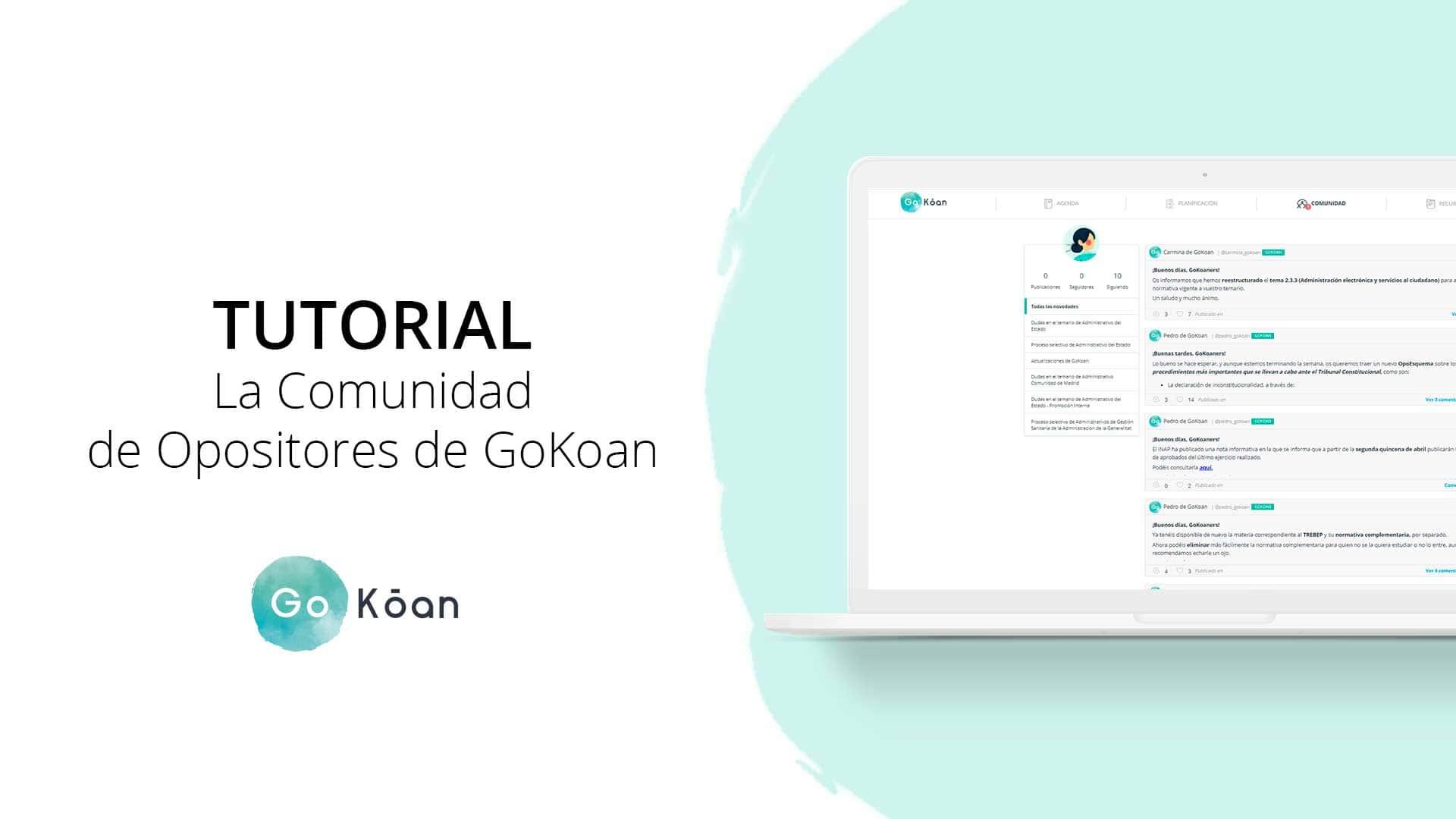 La Comunidad de GoKoan: la primera red social para opositores