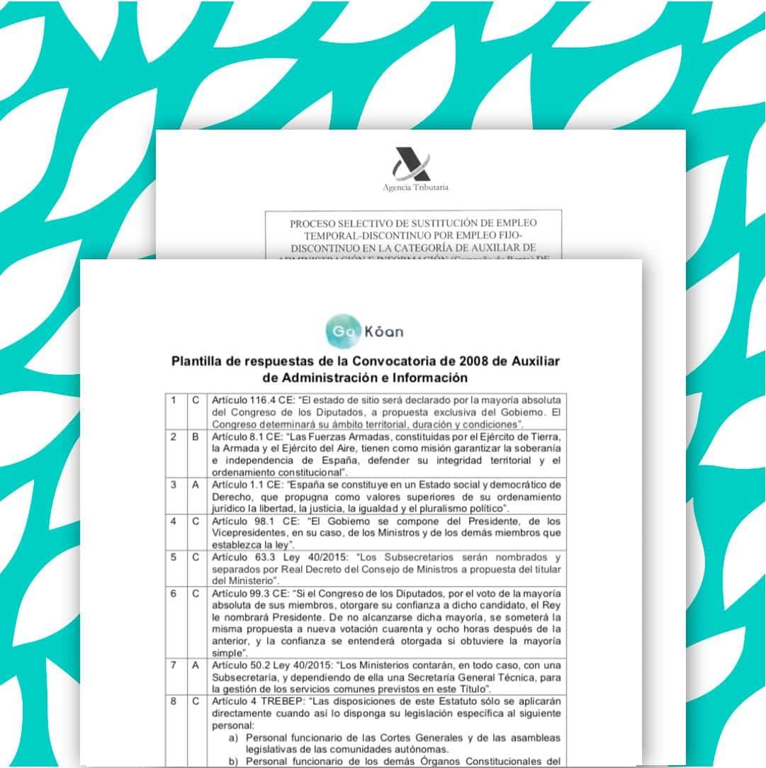 Examen oficial campaña de la Renta