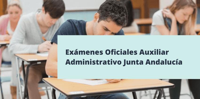 Exámenes oficiales de la Junta de Andalucía en PDF